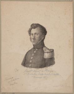 Portret van Arnout Willem de Bruyn (1794-1882)