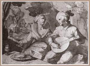 Musicerend paar