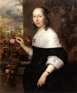 Portret van Margaretha Tulp (1634-1709)