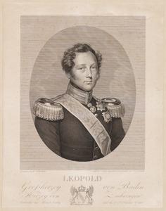 Portret van Leopold van Baden (1790-1852)