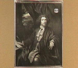 Portret van Ameus van der Schuer, echtgenoot van Anna Jacoba van der Boekman