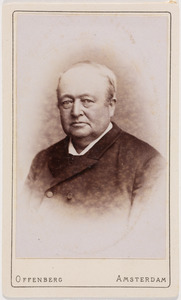 Portret van Jacob Duyvis (1832-1908)