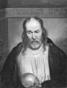 Filosoof met een schedel