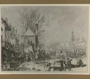 Amsterdam, wintervreugde op de Amstel