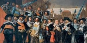 Schutters van de St. Jorisdoelen in Haarlem