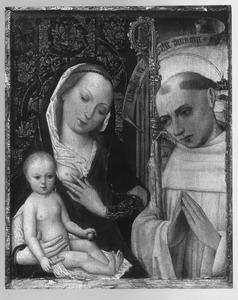 Maria met kind en heilige