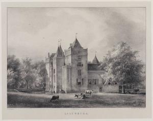 Gezicht op kasteel Assumburg