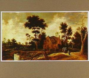 Landschap met Christus en de hoofdman van Kafarnaum (Mattheus 8:5-13)