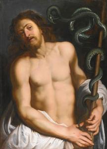 Christus als overwinnaar van het kwaad