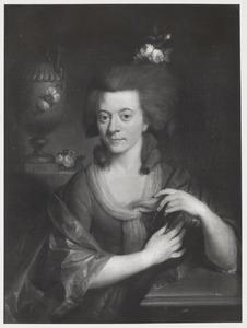 Portret van Johanna Jacoba Determeyer Weslingh (1759-1786)
