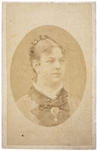 Portret van Carolina Gerardina Louisa Lanen (1861-1881)