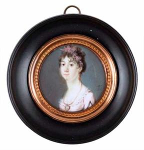 Portret van Augusta Eleonora Carolina Von Hohenlohe Langenburg (1775-1813)