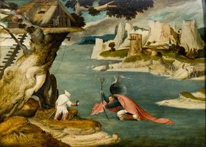 De H. Christoforus met het Christuskind