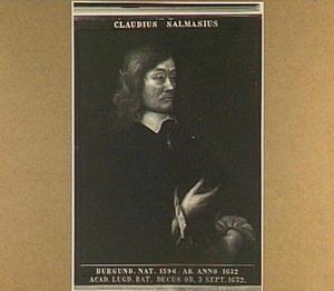 Portret van Claudius Salmasius (1588-1653)