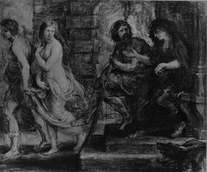 Orpheus leidt Eurydice uit de onderwereld (Ovidius, Metamorfosen, X, 1-39)