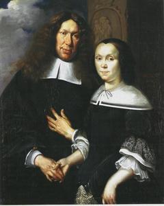 Portret van een onbekend echthpaar