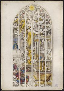 De inwijding van de tempel door Koning Salomo (naar raam/carton 7)