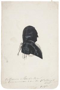 Portret van Carel baron van Boetzelaer (1727-1803)