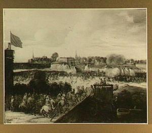 De inkomst van Ferdinand, de Kardinaal-Infante van Spanje in  Antwerpen, 17 April 1635