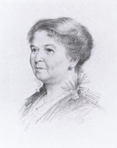 Portret van Johanna Elisabeth Kat (1864-1926)