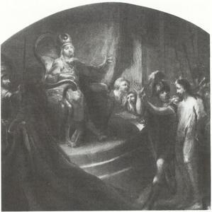 Christus voor Pontius Pilatus