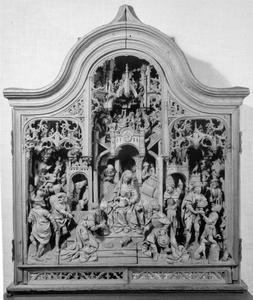 Retabel met de aanbidding der Wijzen