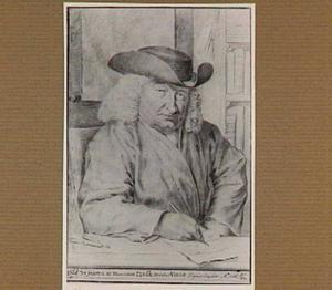 Portret van de kunstenaar Isaac van der Vinne (1665-1740)