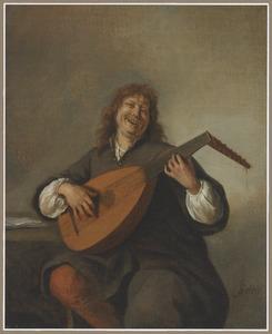 Zelfportret met luit
