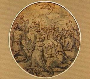 Het dankoffer van Noach en zijn gezin (Genesis 8:20)