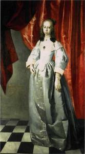 Portret van Elisabeth Sophie Gyldenøve (1633-1654)