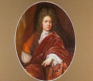 Portret van een man, waarschijnlijk Adriaan van Bredehoff (1672-1733)