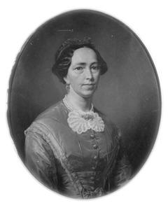 Portret van Elisabeth Schuurman