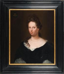 Portret van Maria Pauw (1653-1733)