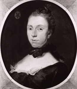 Portret van Margaretha Berck (1730-1786)