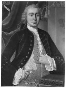 Portret van Charles de la Bassecour (1725-1773)