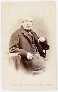 Portret van Johan Anne Singendonck (1809-1893)