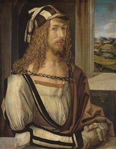 Zelfportret van Albrecht Dürer (1471-1528)
