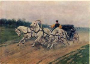 Troika van de Moskouse paardensportvereniging