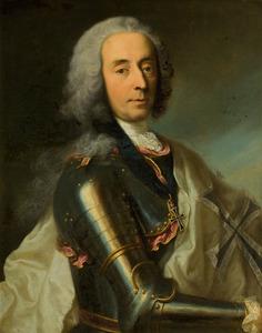 Portret van Unico Wilhelm van Wassenaer Obdam (1692-1766)