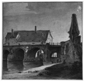 De Pont Neuf in Angers