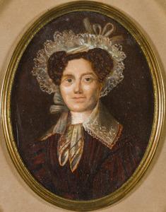 Portret van Christina Elisabeth Wiese (1795-1839)
