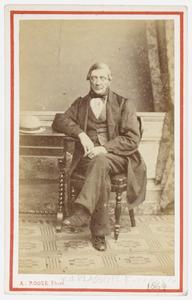 Portret van dhr. F. van de Plassche