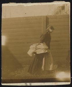 Portret van een passant (vrouw)