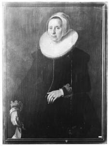 Portret van Dieuwertje Grootebroeck (....-1676)