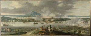 Het beleg van Schenkenschans door Frederik Hendrik van Oranje-Nassau, april 1636