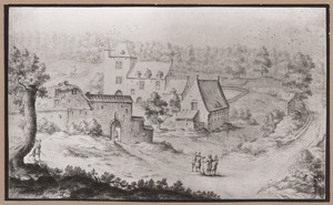 Landschap met kasteel Drij Borren
