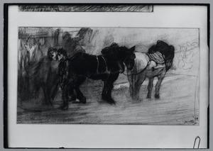 Paarden in Parijs