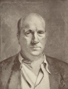 Portret van Jan Wiegers (1893-1959)