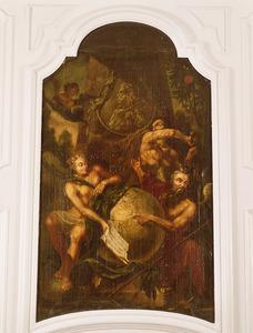 Allegorie op stadhouder Willem IV