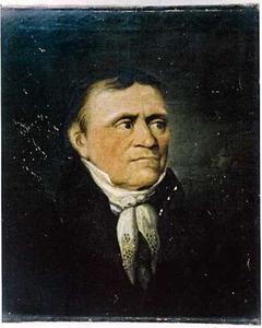 Portret van Hermann Christian Hintzen (1766-1855)